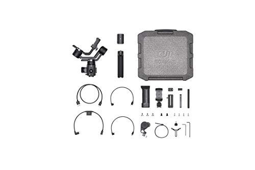 DJI Ronin-SC Pro Combo Gimbal - Kit con Estabilizador portátil Profesional de 3 Ejes, Cables de Control, Soporte, para cámara sin Espejo, Compatible con Sony/Nikon/Canon/Panasonic/Fujifilm
