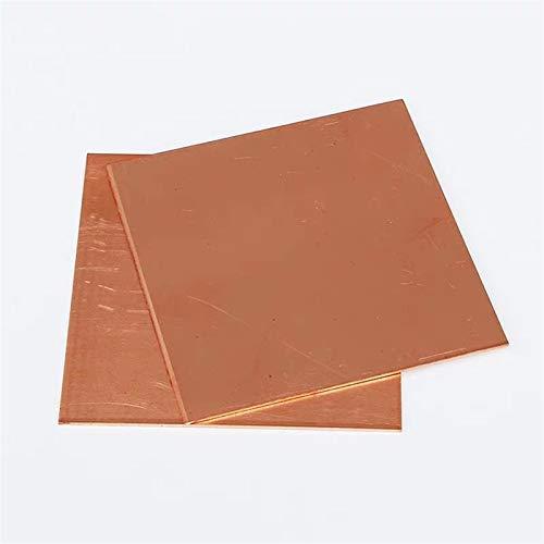Xuulan Xianglaa-Placa de Metal pequeña 99.9% Puro Cobre CU Metal Guillotine Cut...