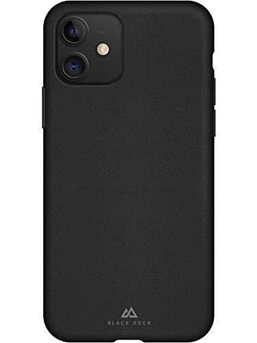 Black Rock - Eco Hülle Hülle für Apple iPhone 11 I vegan, biologisch abbaubar, ohne Kunststoff (Schwarz)