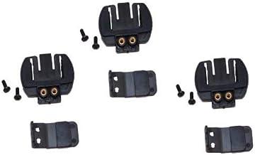 Bearidge //インカム用 ヘルメット取付 クリップ 3個セット(4Riders/6Riders ヘルメット 取り付けクリップ)