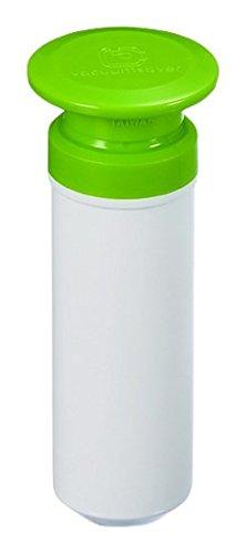 Vacuumsaver Bomba de Vaciado, Blanco y Verde, 5x5x9 cm