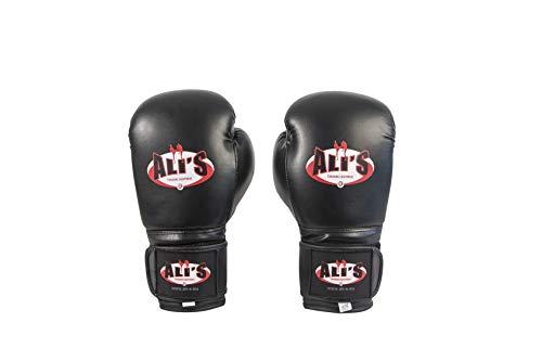 Ali's Fightgear BT GO Boxhandschuhe schwarz Größe 18 Oz - XL