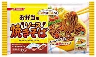 【12パック】 冷凍食品 弁当 ConaCaraお弁当ソース焼そば 195g 日清