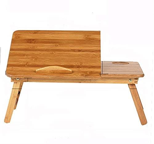 Tabla portátil - Mesa de Cama de Laptop Ajustable - Soporte para niños del Piso de sofá - Riser de Escritorio de pie - Mesa de computadora para sofá sofá y piso-33x17x30x50cm Baifantastic