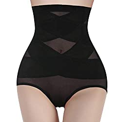 ❤BUTT LIFTER SHAPEWEAR: Full butt shape stitching panty help tighten your bottom and lift your buttock naturally, give you the slimming curvy figure you want, make your butts look bigger, sexier, and more beautiful. ❤DOUBLE CONTROL WAIST SLIMMER: Thi...