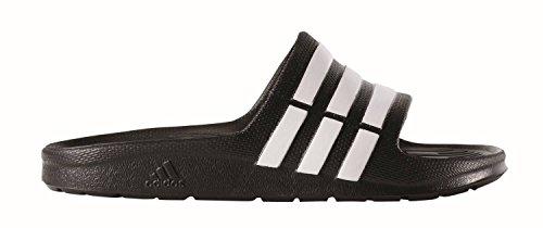 adidas Duramo Slide K Flip Flops for Children Black BLACK1RUNBLABLACK1 30