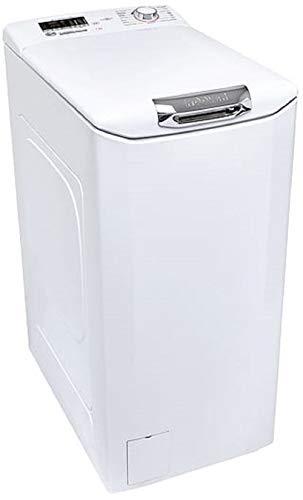 Hoover H-WASH 300 LITE Lavatrice a Carica dall Alto 7 Kg, 1200 Giri, Connettività NFC, Libera Installazione, 41-60-86 cm, Bianco, Classe F