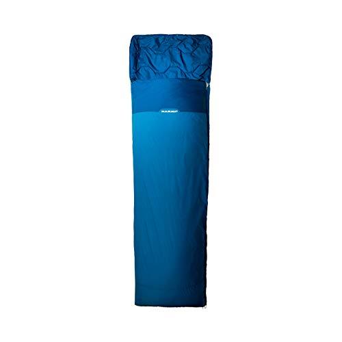 Mammut Kompakt MTI Spring Traveller Schlafsack, Dark Cyan-Cobalt, 195 L