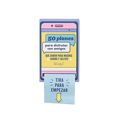 Mr. Wonderful Caja dispensadora de Planes, Multicolor, Estandar