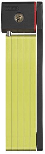 ABUS Faltschloss 5700/80 uGrip Bordo, Lime Grün, One Size