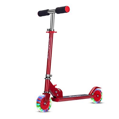 SCOOTERYW Tweewielige kinderscooter tillen en vouwen, volledig aluminium skater scooter pedaal scooter