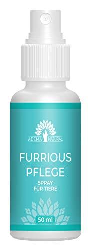 ADEMA NATURAL® FURRIOUS Pflege Spray - Fell Pflege für Tiere - schönes gepflegtes Fell - 50 ml Inhalt