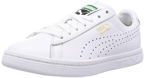 PUMA Unisex Court Star NM Low-Top, White, 43 EU