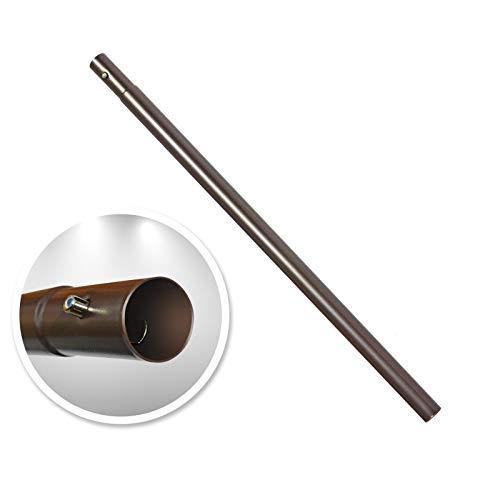 BenefitUSA Patio Umbrella Lower Pole w/Bullet Buckle, 33.5''L/45.6''L (45.6''L)