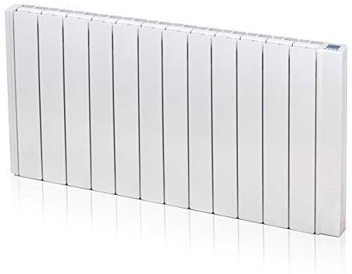 Gabarrón - Emisor térmico Ingenium RD12W de Fluido con WiFi Compatible con Alexa y Google Home, 1500W Digital programable.