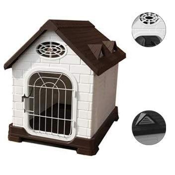 Hantelbänke Haustierhaus Haustierbett Haustiervilla Hundehütte im Freien Indoor Katzenstreu Extern wetterfest Kleines und mittleres Haustierzimmer Verfügbar die ganze Saison