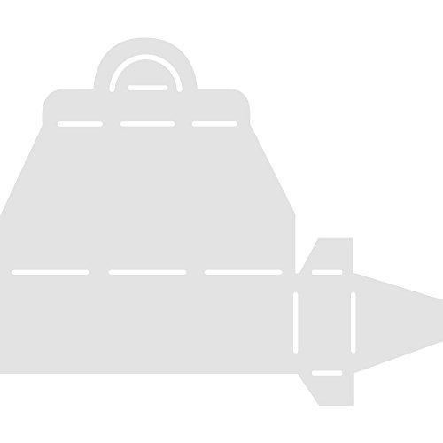 Rayher 7933400 Schablone, Koffer, 17,5x21,3 cm, SB-Btl. 1 Stück