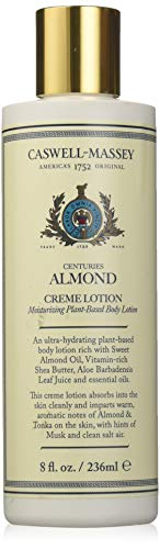 Caswell-Massey Centuries Almond Creme Body Lotion – Plant-Based Body Moisturizer With A Natural Almond Scent, 8 oz