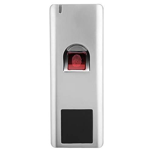 Controllo accessi biometrico dell'impronta Digitale, Interno + Esterno 125KHZ Wiegand 26 Lettore di Controllo accessi RFID Apriporta elettronico biometrico IP66 Impermeabile per casa Appartamento