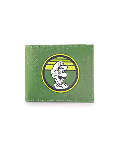 Super Mario Luigi Bifold Wallet