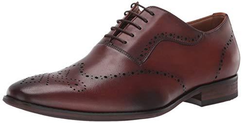 Steve Madden Dimas Oxford Tan Leather 8 D (M)