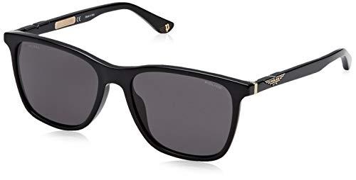 Police Herren Origins 1 Sonnenbrille, Schwarz (Shiny Black/Grey), 56.0