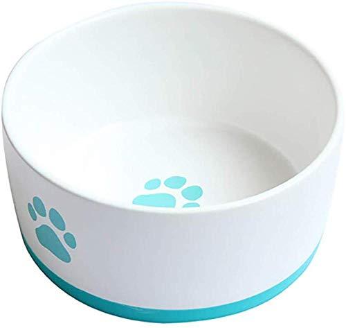 Para Gatos Tazón Para Comida Para Perros Suministros Para Mascotas Tazón De Cerámica Alimentador Para Gatos Tazón Para Comida Para Perros Mejores Regalos Últimos Modelos (color: Rojo)-azul