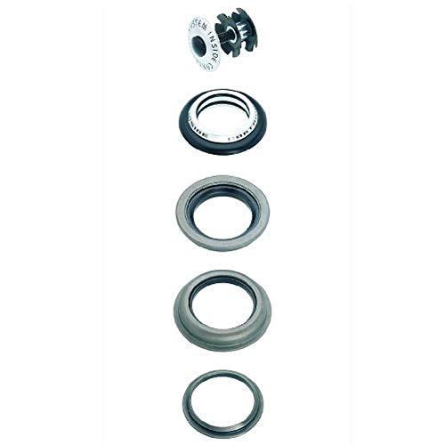 Point Steuersatz, semi Integrated-Cartridge System-A-Head Plug 1 Konus ∅ 28,6 mm-obere untere Schale ∅ 44 mm-Crown Cone ∅ 30 mm-Kugelringe 1/8