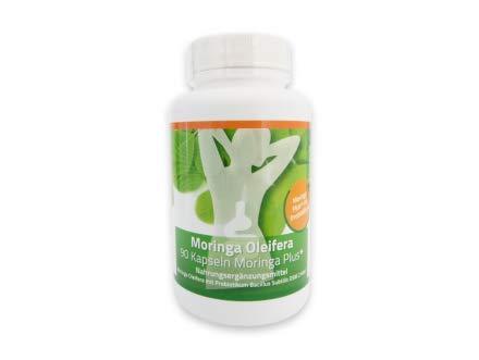 90 Bacillus subtilis DSM 21097 - Moringa Plus+ Kapseln / mit Moringa Oleifera je 420mg