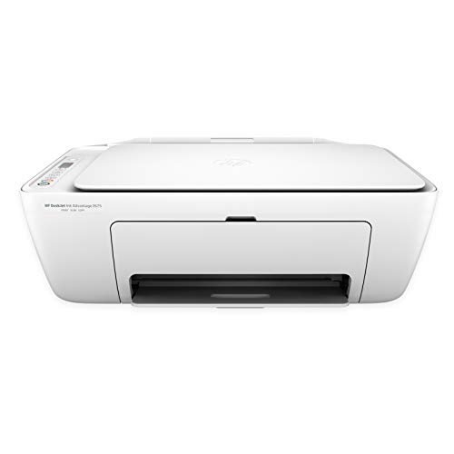 HP DeskJet 2675 All-in-One Ink Advantage Wireless Colour Printer (White) with Voice-Activated Printing (Works with Alexa and Google Assistant)