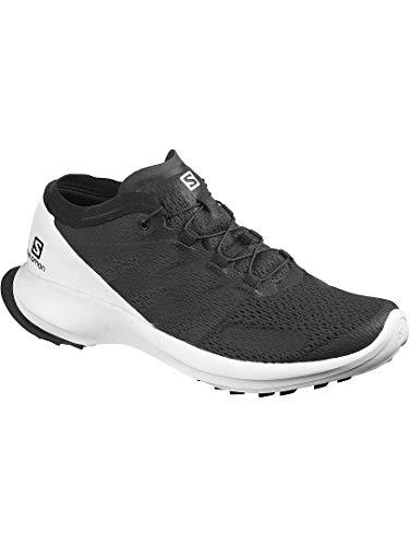 SALOMON Shoes Sense Flow, Zapatillas de Running para Hombre, Multicolor (Black/White/Black)