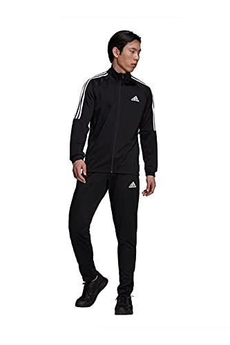 Adidas H28922 - Chándal deportivo de 3 rayas con corte Sereno Aeroready, color negro, código:, Negro ,