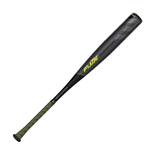 EASTON Project 3 Fuze 3 BBCOR Baseball Bat | 32 inch / 29 oz | 2019 | 1 Piece Aluminum | CarbonCore | ATAC Alloy | Power Boost Knob | VRS COR | Composite End Cap 8065548