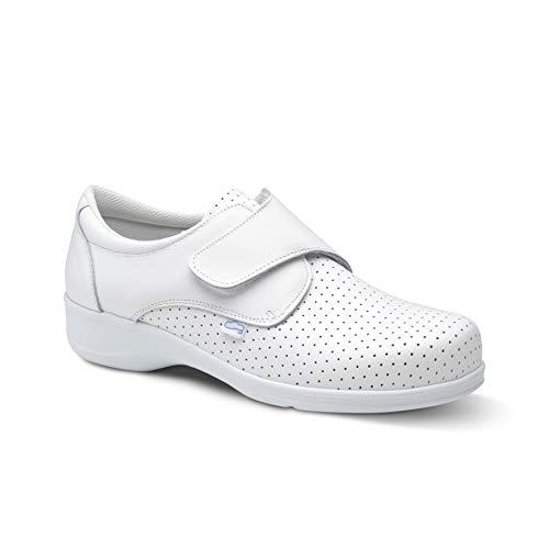 Feliz Caminar Beta, Zapatos Sanitarios, Blanco, 39 EU