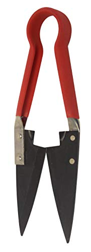 Spear & Jackson 4755TS Kleine Einhändige Formschnittschere, Rot, Schwarz