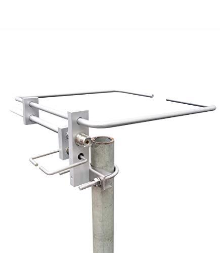 2M/70CM VHF UHF Dual-Band 140~150/400~470MHz 800W Square Horizontal Loop Base Antenna GABIL GRA-YG1443
