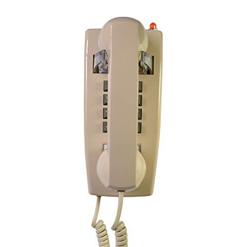 XAOBNIU Teléfono Cable Teléfono Fijo Gondola Style