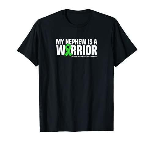 Mein Neffe ist ein Warrior Duchenne Muskeldystrophie Awareness T-Shirt