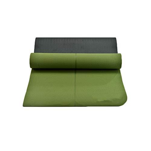 Zweifarbige Yogamatte Turnhalle Sportdecke rutschfeste Fußmatten for Zuhause Kindertanzübungsauflage Spielauflage Baby-Krabbeldecke Picknick-Tuch Handtuch Handtuch 180 * 66 cm Bodenmatte