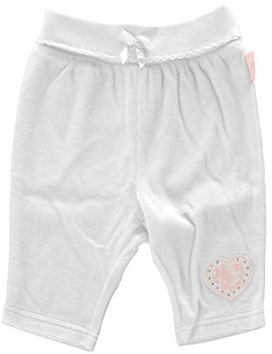 Pampolina Hose Pantalon Glitzer Weiß 56