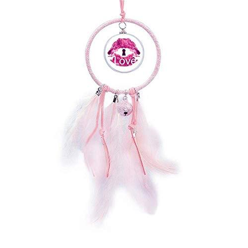 Beauty Gift Atrapasueños para el día de San Valentín, diseño de labios, color rosa