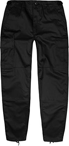 normani Kinder Kids Rangerhose Freizeithose Farbe Schwarz Größe XS/110-116