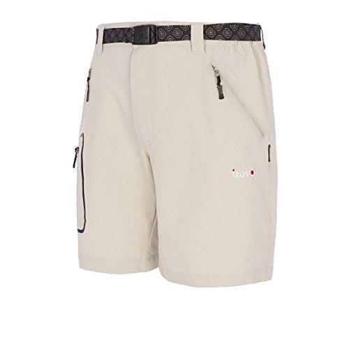 IZAS ZALLA Shorts de Montagne Homme, Argent, FR : L (Taille Fabricant : L)