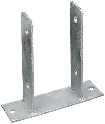 Connex Pfostenträger U-Form, zum Aufschrauben, 101 x 60 x 200 x 200 x 5,5 mm, HV4254