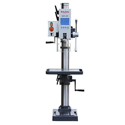 Check Out This KAKA Industrial GD-25 Vertical Drill Press, Adjustable Speed, Solid Construction Dril...