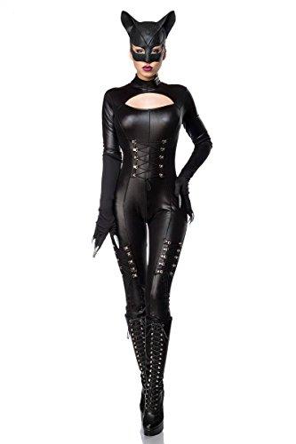 Disfraz de sexy Catwoman Cat Woman heroína Super héroe héroe negro ...