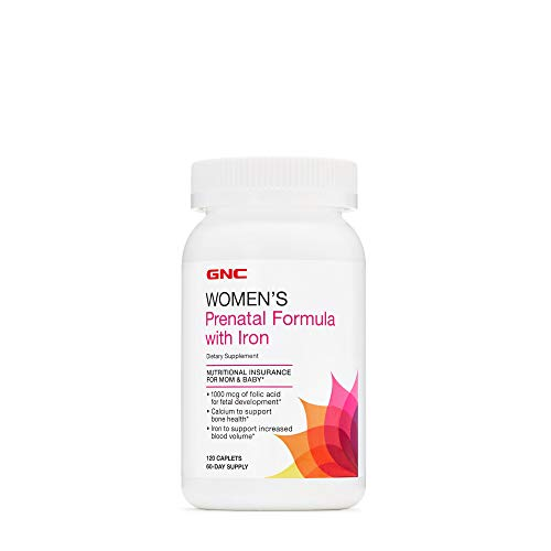 GNC Women's Prenatal Formula with Iron