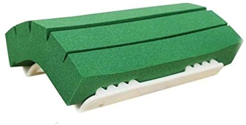 YYhkeby Pet Hundekamm Schwamm Epilierer Schwamm Bürste einfach zu reinigen Katze und Hundehaare auf dem Teppich Bett, Hellgrün, M Jialele (Color : Light Green, Size : Medium)