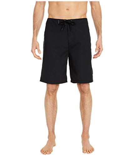 "Hurley One & Only 2.0 21"" Boardshorts Black/Volt 34"