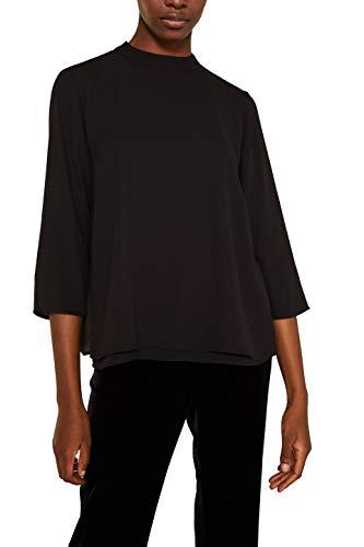ESPRIT Collection Damen 119EO1F012 Bluse, Schwarz (Black 001), 38